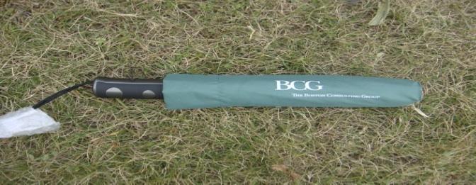 Opberghoes BCG paraplu