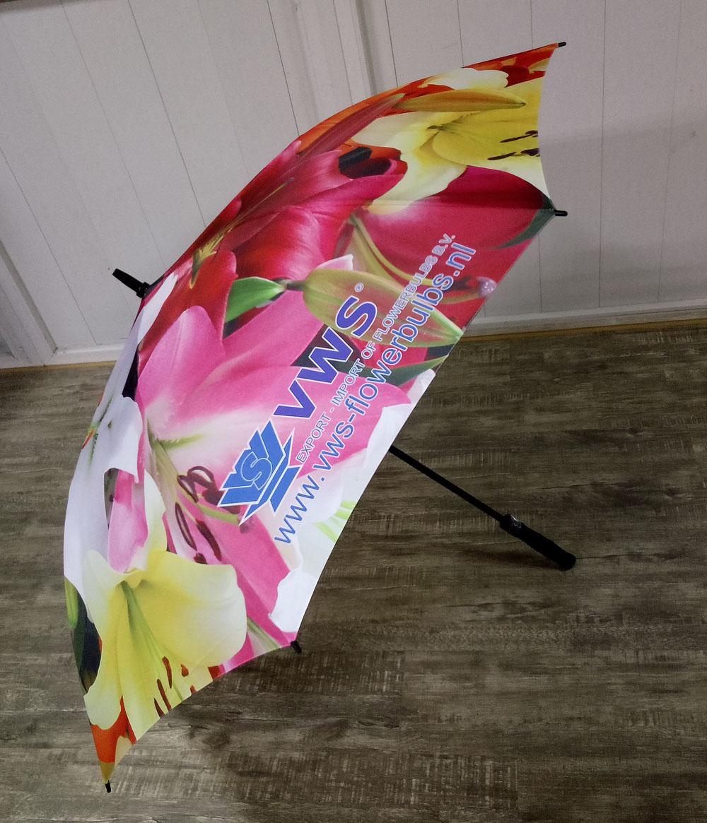 VWS Flowerbulbs paraplu zij aanzicht
